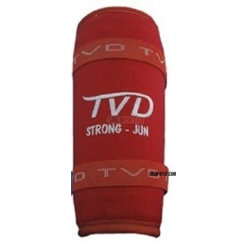 Shin Pads TVD STRONG RED