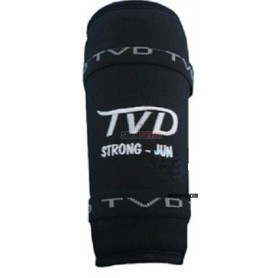 Shin Pads TVD STRONG BLACK
