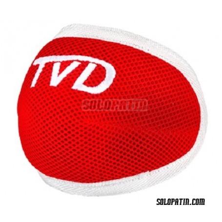 Ginocchiere Hockey TVD SPIDER ROSSO