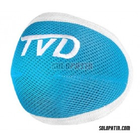 Hockey Knee Pads TVD SPIDER SKY BLUE