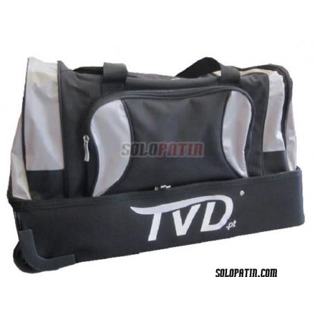 Bolsa Trolley TVD Jugador NEGRA - PLATA