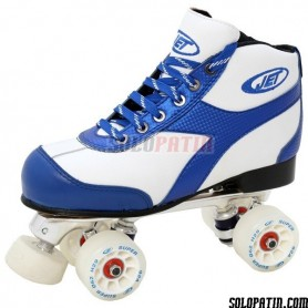 Pattini Hockey JET ROLLER C BIANCO / NERO