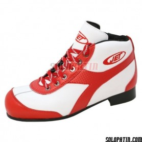 Patins Complets Hockey JET ROLLER E BLANC / ROUGE