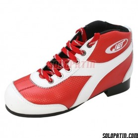 Patins Complets Hockey JET ROLLER E ROUGE / BLANC