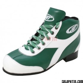 Pattini Hockey JET ROLLER E VERDE / BIANCO