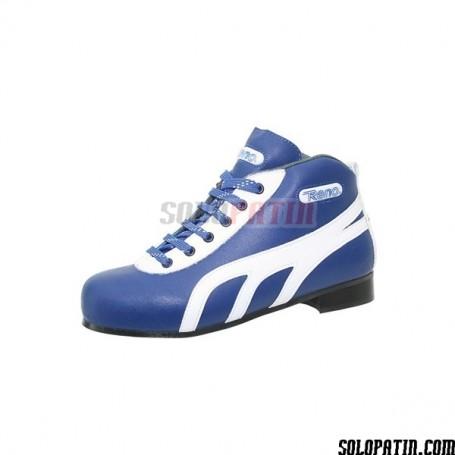 Rollhockey Schuhe Reno Amateur Schwarz Rot