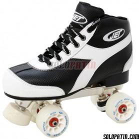 Pattini Hockey JET ROLLER F BIANCO / BLU