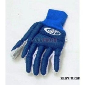 Guantes Hockey JET REDE AZULES