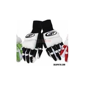 Hockey Gloves JET REDE BLACK / WHITE