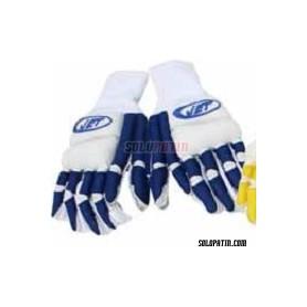 Hockey Gloves JET REDE BLUE / WHITE