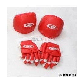 Pack Hockey JET ECONOMICO ROJO
