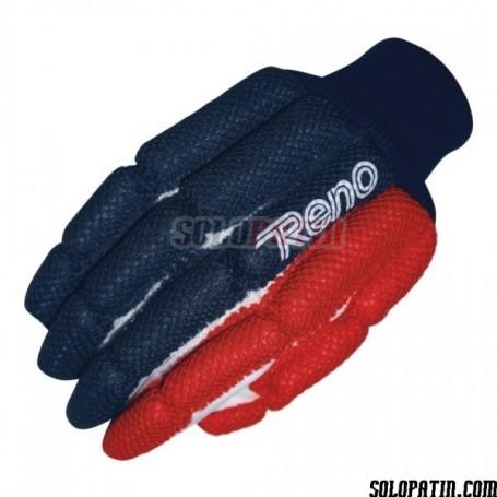 Guantes Reno Confort TEX rojo azul