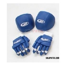 Pack Hockey JET ECONOMICO 2 Pieces BLUE