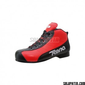 Rollhockey Schuhe Reno Milenium Plus III Rot Schwarz