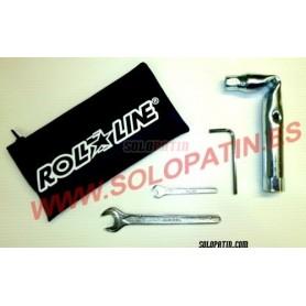 4 Professional Tools Kit Roll-Line