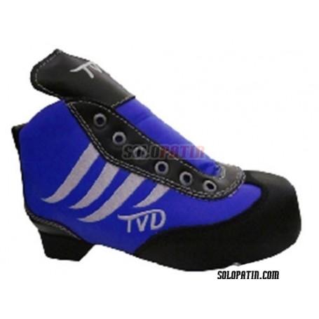 Hockey Boots TVD DIABLO CARBON BLUE - WHITE