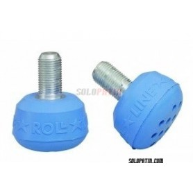 Toe Stops Artistic Roll-Line Professional Blue