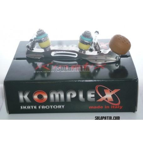 Platines Patinatge Artístic Lliure Komplex Kinetix Silver