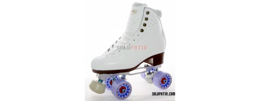 Patines completos de patinaje artistico.