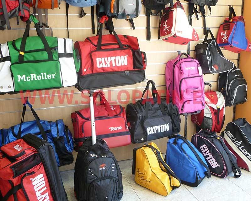 Bolsas y maletas portapatines
