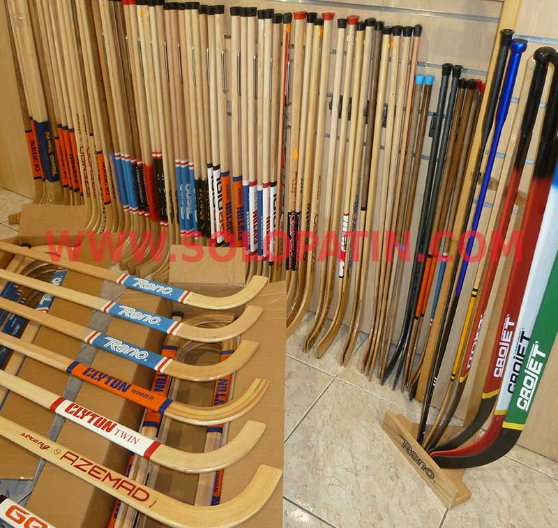 Fabricante sticks hockey patines